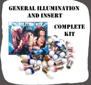 Complete GI and Inserts LED Kit Demolition Man