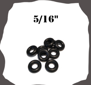 """Rubber Ring 5/16"""" for Pinball Machines"""