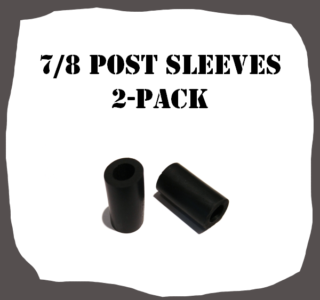 7/8 Type 2-Pack Post Sleeves for Pinball