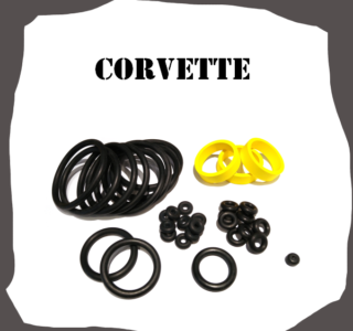 Ball/Midway Corvette Rubber Kit Pinball