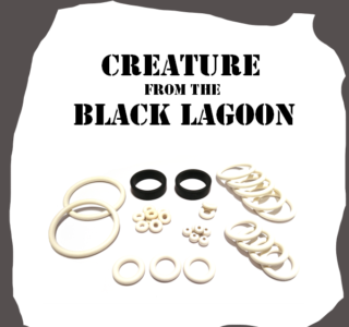 Bally/Midway Creature from the Black Lagoon Rubber Kit