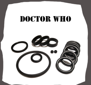 Bally/Midway Doctor Who Rubber Kit