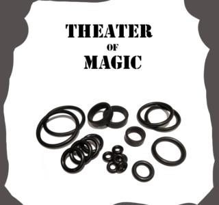 Bally/Midway Theater of Magic Rubber Kit Pinball