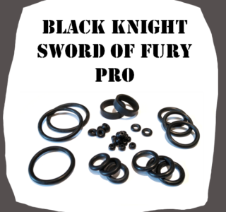 Stern Black Night Sword of Rage PRO High Quality Rubber Kit