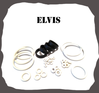 Stern Elvis 2004 High Quality Pinball Rubbers