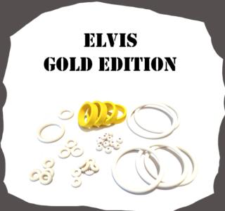 Stern Elvis GOLD Edition Rubber Kit