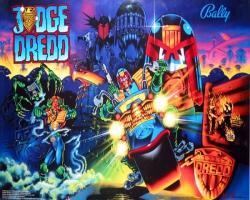 BallyMidway Judge Dredd 1993 Pinball Machinea