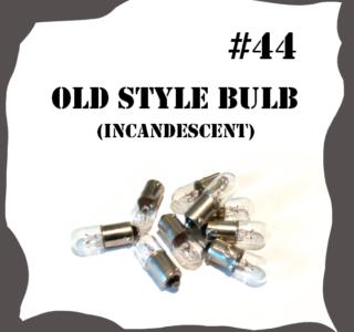 #44 Filament 6 Volt Pinball Bulb