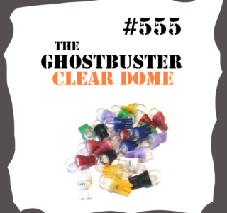 #555 Non-Ghosting Clear Dome LED for Pinball Machine