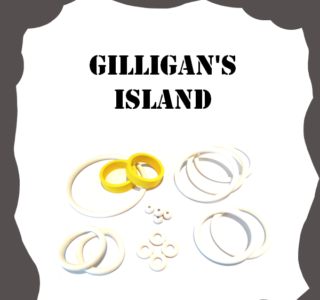 Bally/Midway Gilligan's Island Rubber Kit