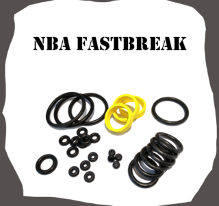 Bally/Midway NBA Fastbreak Rubber Kit Pinball