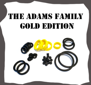Bally/Midway The Adams Family Gold Edition Rubber Kit