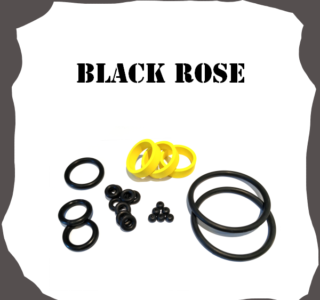 Bally/Midway Black Rose Rubber Kit Pinball
