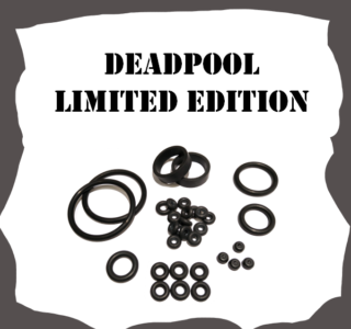 Stern Deadpool Limited Edition Rubber Kit