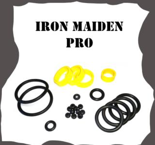 Stern Iron Maiden PRO Rubber Kit for Pinball Machine