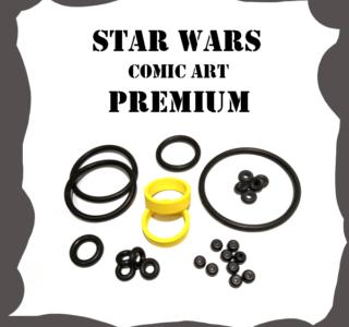 Stern Star Wars Comic Art PREMIUM Rubber Kit