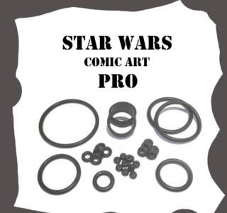 Stern Star Wars Comic Art PRO Rubber Kit
