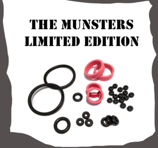 Stern The Munsters Limited Edition Rubber Kit