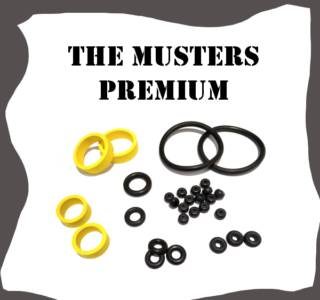 Stern The Munsters PREMIUM Rubber Kit