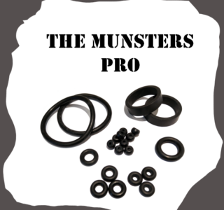 Stern The Munsters PRO Rubber Kit
