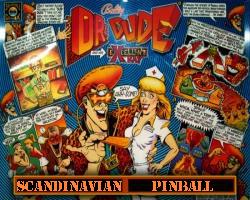 Bally/Midway Dr. Dude 1990 Pinball Machine