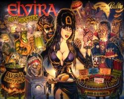 Bally/Midway Elvira 1989 Pinball Machine