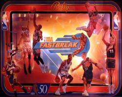 Bally/Midway NBA Fastbreak 1997 Pinball Machine