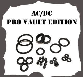 Stern ACDC PRO Vault Edition Rubber Kit