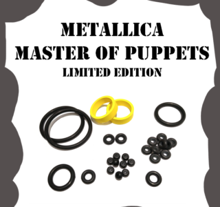 Stern Metallica Master of Puppets Limited Edition Rubber Kit