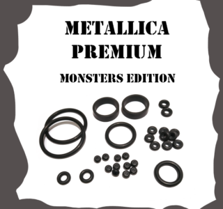 Stern Metallica Premium Monsters Edition 2013 Rubber Kit