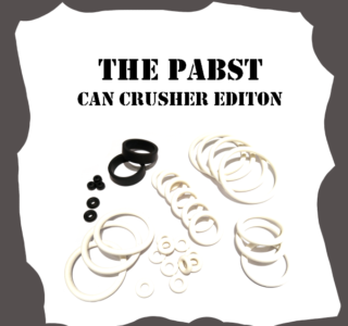 Stern The Pabst Can Crusher Edition Rubber Kit