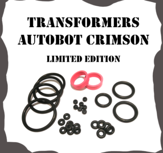 Stern Transformers Autobot Crimson Limited Edition Rubber Kit
