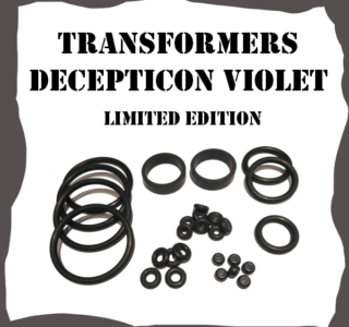 Stern Transformers Decepticon Violet Limited Edition Rubber Kit