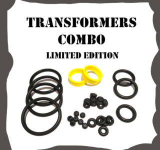 Stern Transformers Limited Edition Combo Rubber Kit