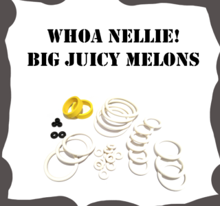 Stern Whoa Nellie Big Juicy Melons Rubber Kit
