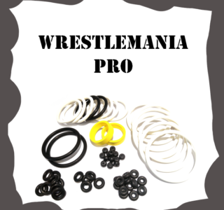 Stern WrestleMania PRO Rubber Kit
