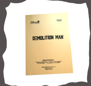 Stern Demolition Man 1994 manual