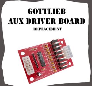 Gottlieb Aux Driver Board System 3