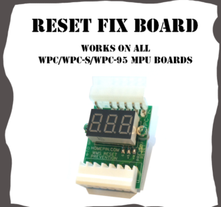 Reset fix for WPC Bally Midway Williams