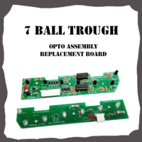 7-Opto Ball Trough Board