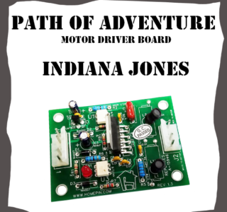 Bridge Driver Replacement Board Williams Indiana Jones - A-15946