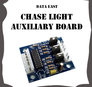 Data East Chase Light Auxiliary drive board