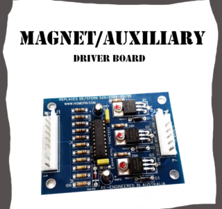 Magnet Auxiliary driver board Data East and Stern