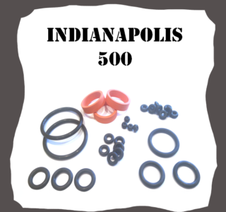 Bally/Midway Indianapolis 500 Rubber Kit