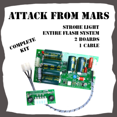 Attack from Mars Complete Strobe Light System