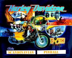 Bally/Midway Harley Davidson 1991