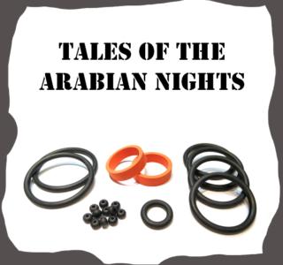 Tales of the Arabian Nights Rubber Kit