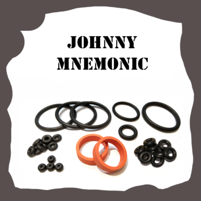 Williams Johnny Mnemonic Rubber Kit