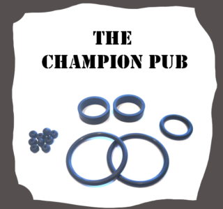 Bally/Midway The Champion Pub Rubber Kit