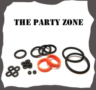 Bally/Midway The Party Zone Rubber Kit